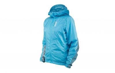 veste coupe vent poc resistance mid bleu