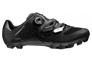 paire de chaussures vtt mavic crossmax elite 2017 noir