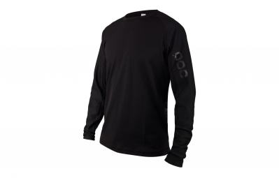 maillot manches longues poc resistance strong noir