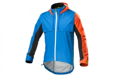 veste mavic crossmax ultimate convertible bleu orange
