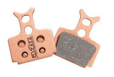 a2z paire de plaquettes formula one r1 rx c1 metalliques