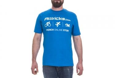 t shirt alltricks staff bleu