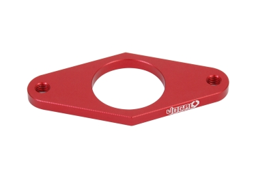 plaque de rotor vocal bmx plate rouge