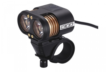 eclairage avant bbb scope 1300 lumens noir