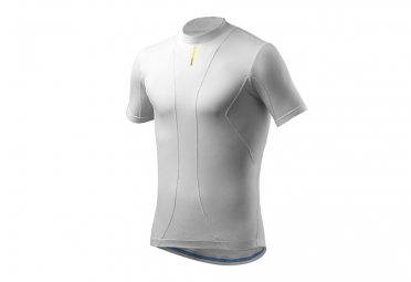 sous maillot manches courtes mavic cold ride blanc