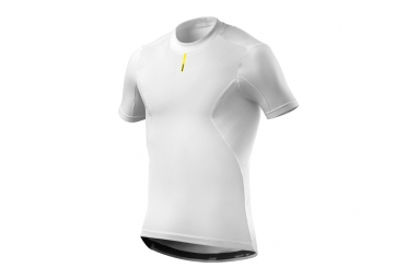 sous maillot manches courtes mavic wind ride blanc