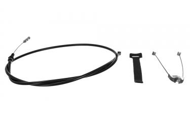 odyssey cable de frein ajustable quick slick noir