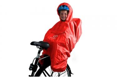 housse de pluie pour siege bebe hamax poncho rouge