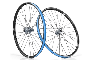 american classic paire de roues wide lightning 29 boost 15x110 12x148 mm corps shima