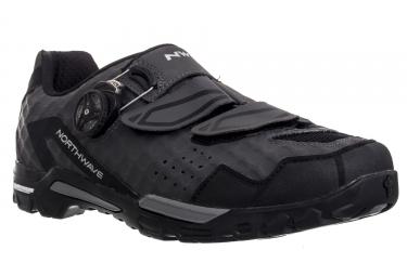 chaussures vtt northwave outcross plus antharcite noir