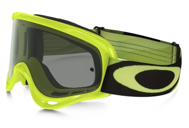 masque oakley o frame mx heritage racer vert jaune noir ref oo7029 30