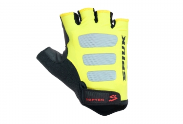 paire de gants route spiuk 2017 top ten jaune
