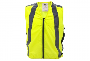 gilet de securite l2s urban jaune