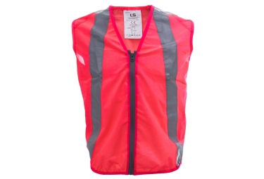 gilet de securite l2s urban rose