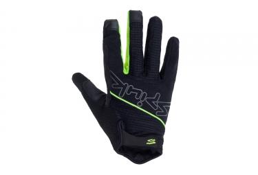 paire de gants long spiuk 2017 xp country noir vert