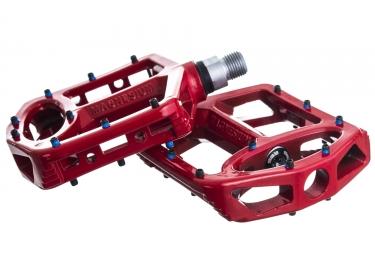 ok produit reconditionne sb3 paire de pedales unicolor magnesium rouge