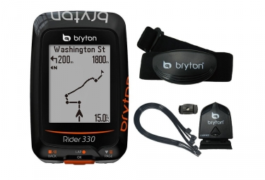 bryton compteur gps rider 330t