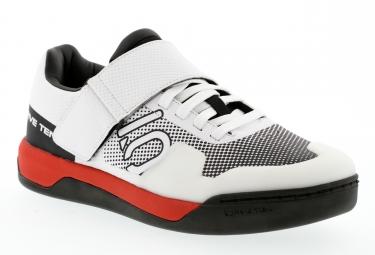 chaussures vtt fiveten 2017 hellcat pro blanc rouge
