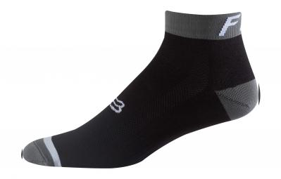 paire de chaussettes fox 4 logo trail noir