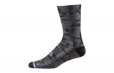 paire de chaussettes fox 8 creo trail noir