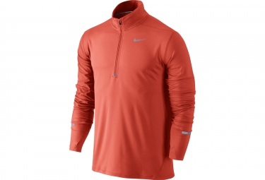 maillot manches longues nike dry element orange