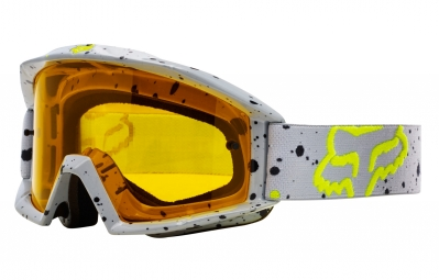 masque fox main nirv gris ecran jaune