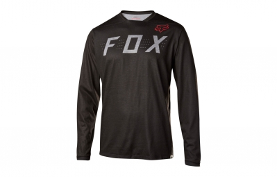 maillot manches longues fox indicator noir