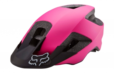 casque all mountain femme fox ranger rose mat