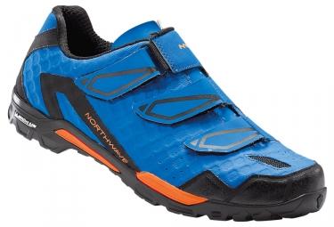 chaussures vtt northwave outcross bleu