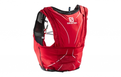 sac a dos salomon adv skin 12 rouge