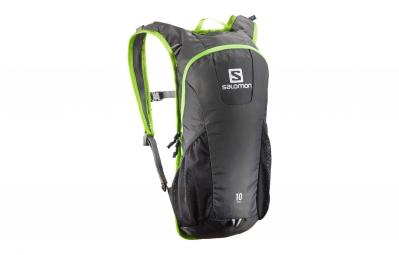 sac a dos salomon trail 10 gris vert