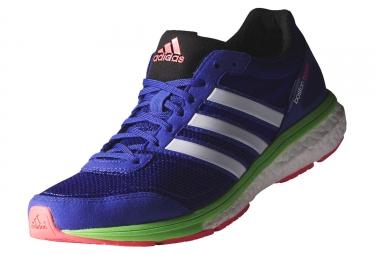 adidas running adizero boston 5 violet vert femme