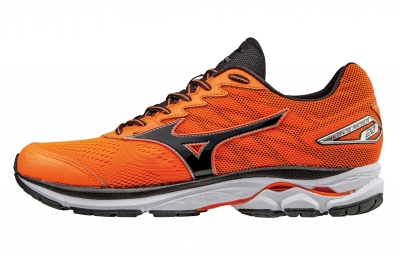 mizuno wave rider 20 orange noir