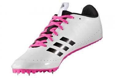adidas running sprintstar blanc rose femme