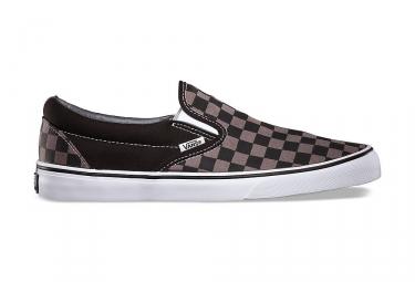 chaussures vans slip on noir gris