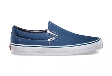 chaussures vans slip on bleu
