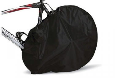 sci con sac de protection arriere velo