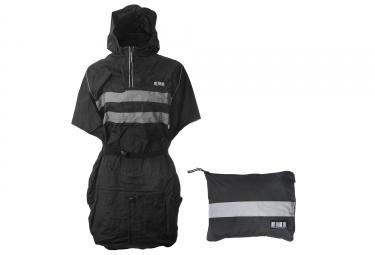 veste rfx raincover poncho pour velo de ville noir