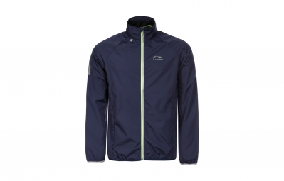 veste coupe vent li ning james bleu