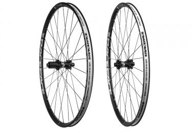 paire de roues race face aeffect 27 5 shimano sram tl ready noir