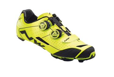 paire de chaussures vtt northwave 2017 extreme xc jaune fluo