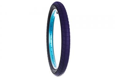 pneu flybikes fuego bleu flancs noir