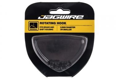 crochets rotatifs jagwire shift standard durite de frein noir