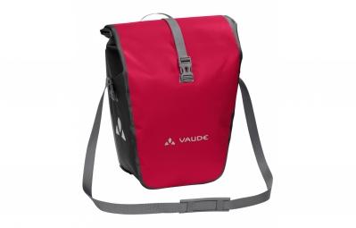 paire de sacoches arriere vaude aqua back rouge