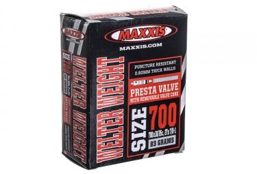 maxxis chambre a air welter weight 700 x 18 25 valve presta