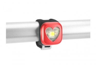 lampe avant knog blinder 1 heart rouge
