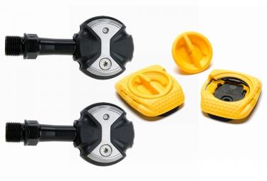 pedales speedplay zero chromo noir cales walkable