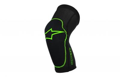genouilleres alpinestars paragon noir vert