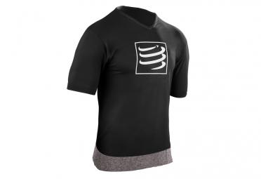 t shirt compressport training noir
