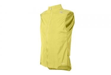 veste coupe vent sans manches poc 2017 resistance pro xc jaune